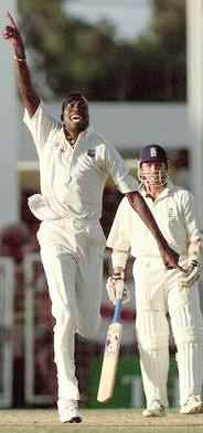 Curtly Ambrose strikes again!